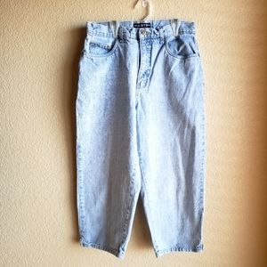 Halson VTG Super High Relaxed Crop Mom Jeans